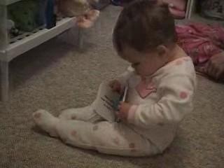 Mara Reads A Book Video