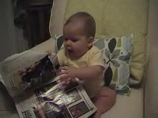 Magazine Reading Video